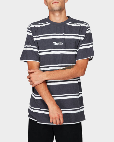 VAL STRIPE MERCH FIT TEE