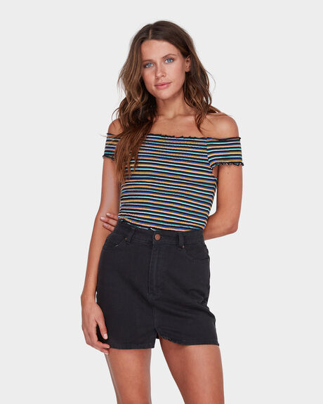 WATERFALL STRIPE TOP