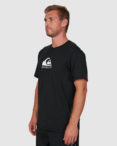 MENS SOLID STREAK SHORT SLEEVE SURF T-SHIRT