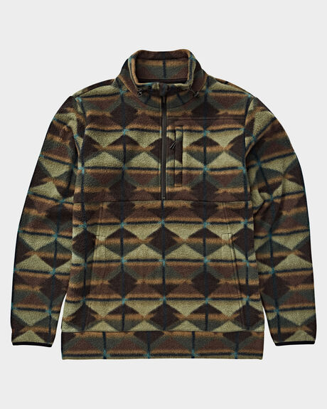 BOUNDARY MOCK HALF ZIP