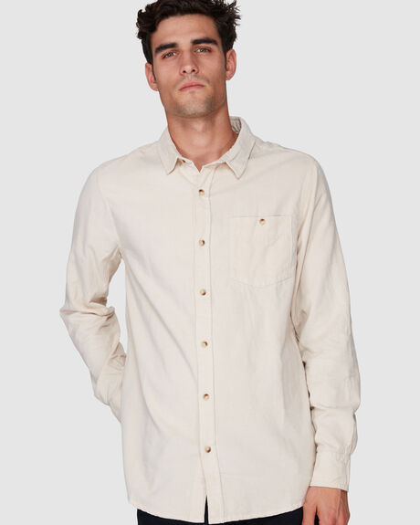 MEN AT WORK CORD SHIRT