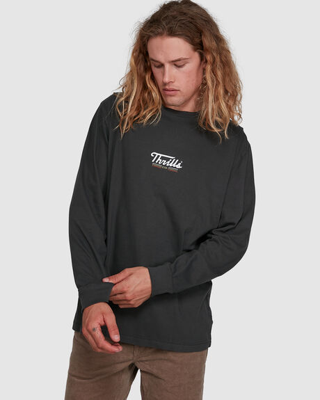 THRILLS CO CYCLES MERCH FIT LS TEE