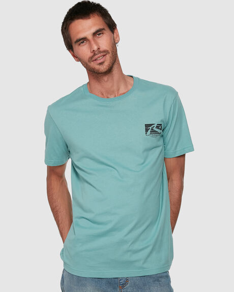 MENS OIL SLICK SHORT SLEEVE TEE