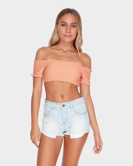 MEMORY LANE STRETCH DENIM SHORT
