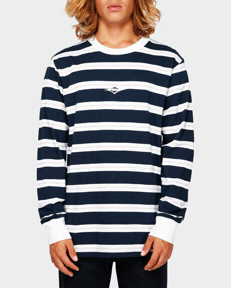 THIC STRIPE LONG SLEEVE TEE