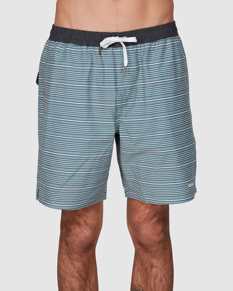 COASTAL STRIPE BEACH SHORT