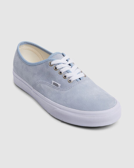 WOMENS AUTHENTIC SUEDE SNEAKERS