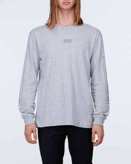 Outline Block Strip Ls Tee