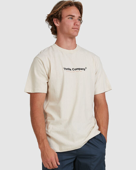 FOUND MERCH FIT TEE - NATURAL