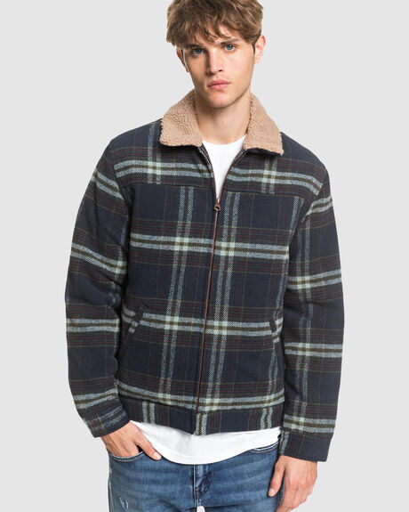 MENS HURRY DOWN WOOL ZIP-UP JACKET
