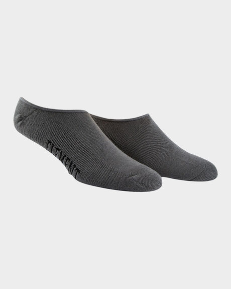 ELEMENT NUDIE SOCK CHAR MARLE