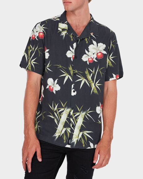 ORCHID BOWLING SHORT SLEEVE SHIRT