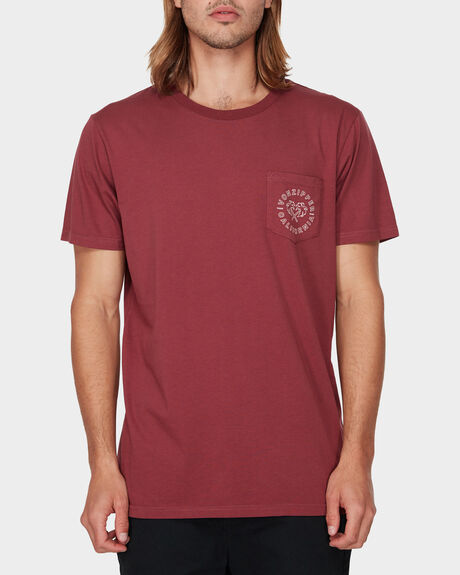 SALTY POCKET SHORT SLEEVE TEE