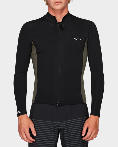 FRONT ZIP NEOPRENE JACKET