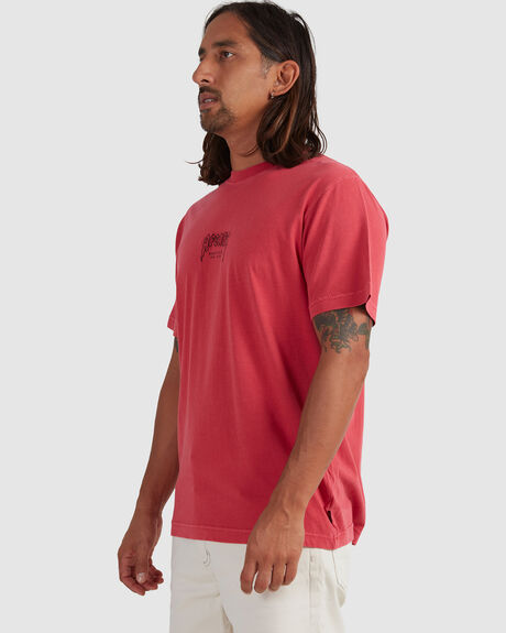 RECYCLED - RETRO FIT TEE - CAYENNE