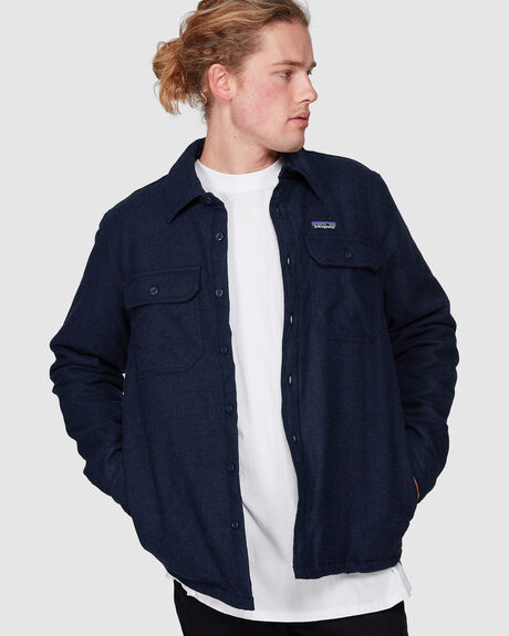 MENS INSULATED FJORD FLANNEL JACKET