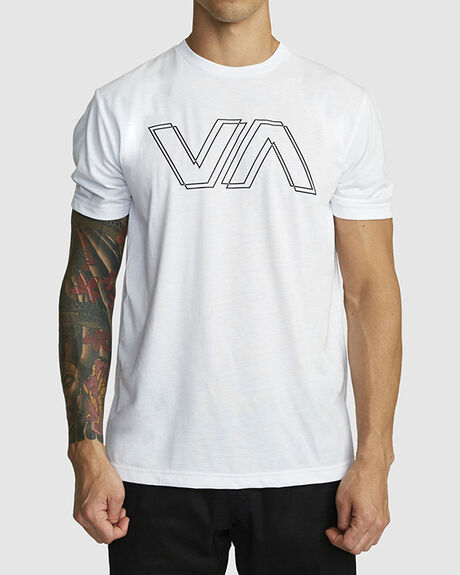 MENS VA OFFSET SHORT SLEEVE TEE