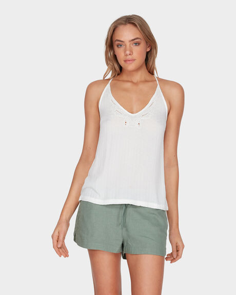 INDONESIAN ESCAPE STRAPPY CAMI TOP