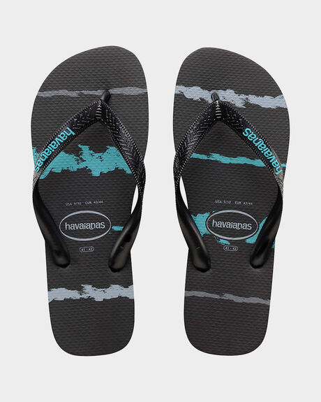 TROPICAL GLITCH THONGS