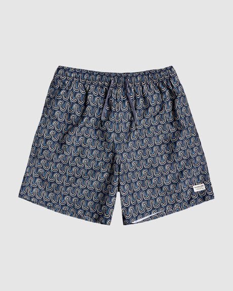 "MENS THREADS AND FINS 17"" SWIM SHORTS"