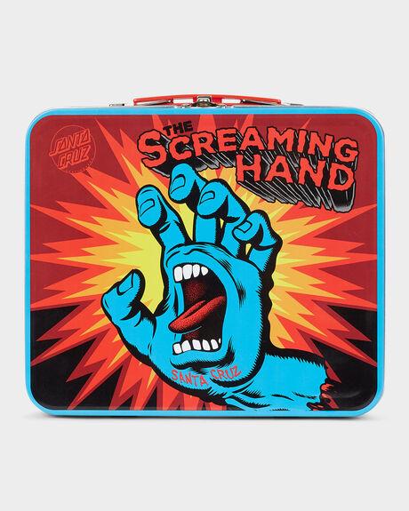 SCREAMING HAND LUNCH BOX