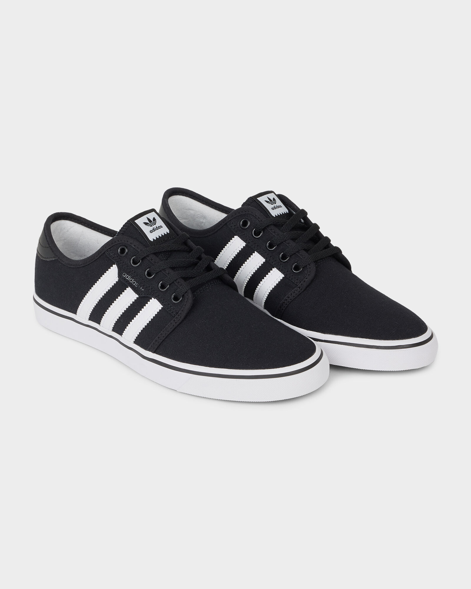 adidas Seeley Grey, Black, & White Shoes