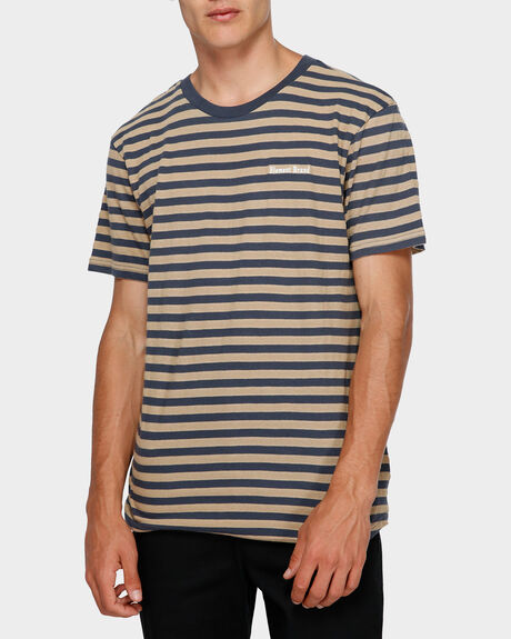 MANUAL STRIPE TEE