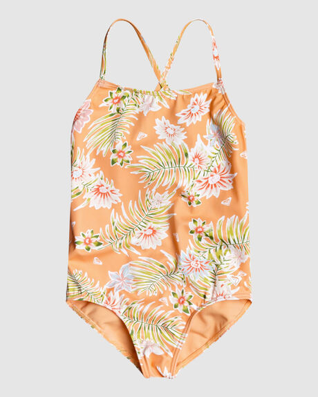 GIRLS 2-7 FLORASEA ONE-PIECE SWIMSUIT