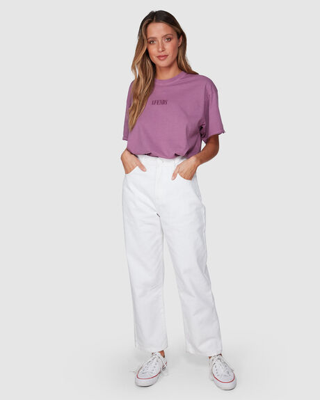 WOMENS SHELBY HIGH WAIST WIDE LEG JEANS