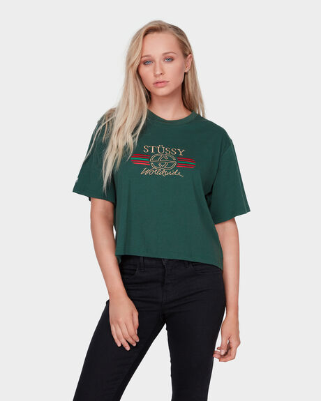 ALLEGRA OS CROP TEE