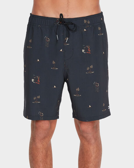 "SUNDAYS 17"" LAYBACKS BOARDSHORT"