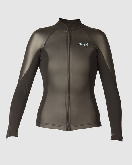 WOMEN'S SMOOTHSKIN 2/1 LONG SLEEVE FRONT ZIP