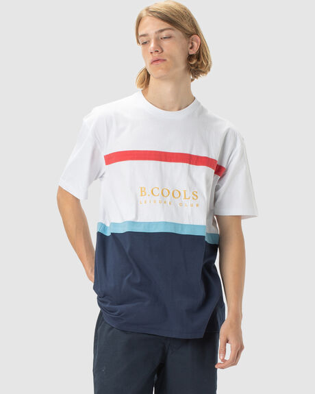 MENS LEISURE CLUB HERITAGE TEE