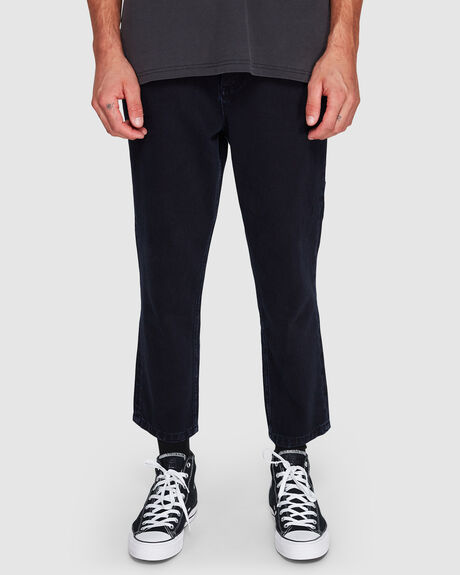 DRILLED CHOPPED 5 POCKET PANT