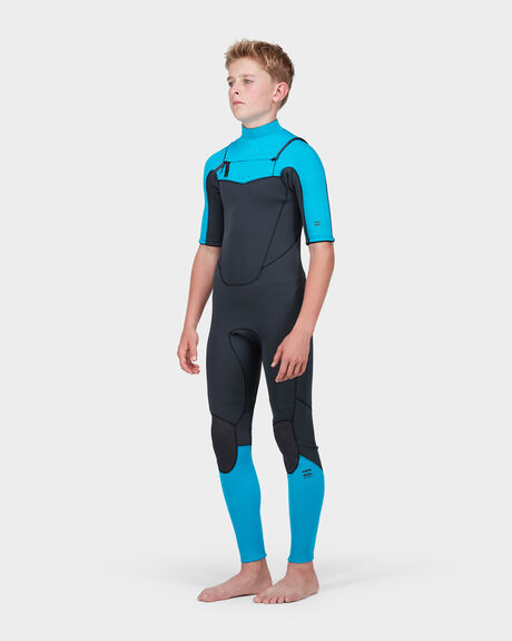 TEEN ABSOLUTE COMP SHORT SLEEVE 202 CHEST ZIP SUIT
