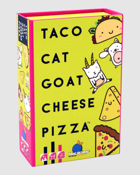 TACO CAT GOAT CHEESE