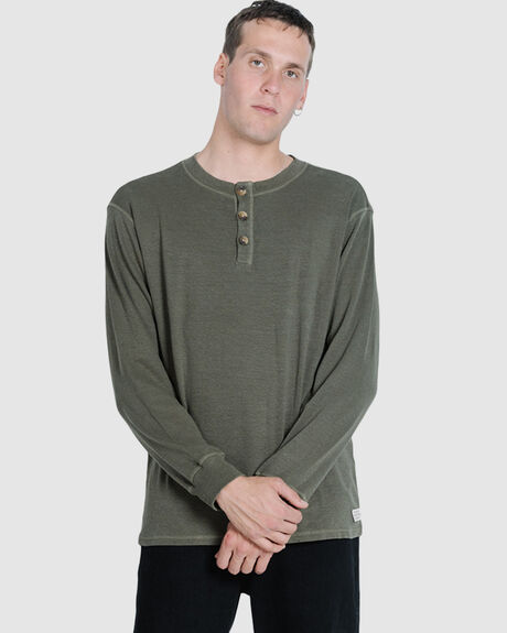 DIVISION LONG SLEEVE HENLEY