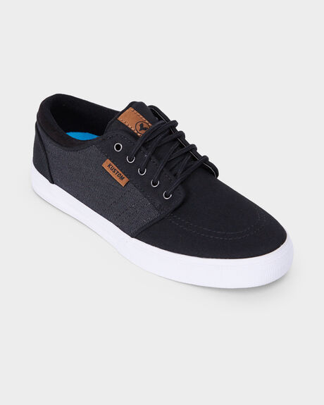 KUSTOM REMARK 2 BLACK MICRO YOUTH SHOE