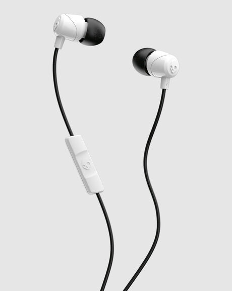 JIB IN EAR W/MIC 1 WHITE/BLACK/WHITE