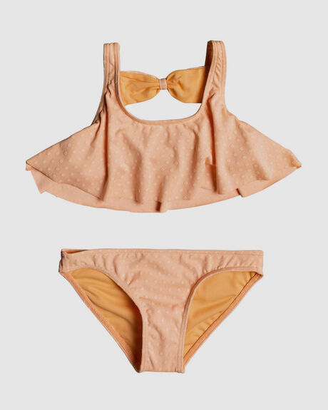 GIRLS 2-7 FRIDAY LOVERS FLUTTER BIKINI SET