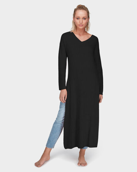 COMING HOME LONGLINE KNIT