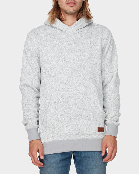KELLER BLOCK ZIP POLAR FLEECE HOODIE