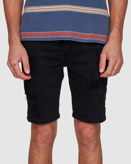 MENS A DROPPED SKINNY SHORT
