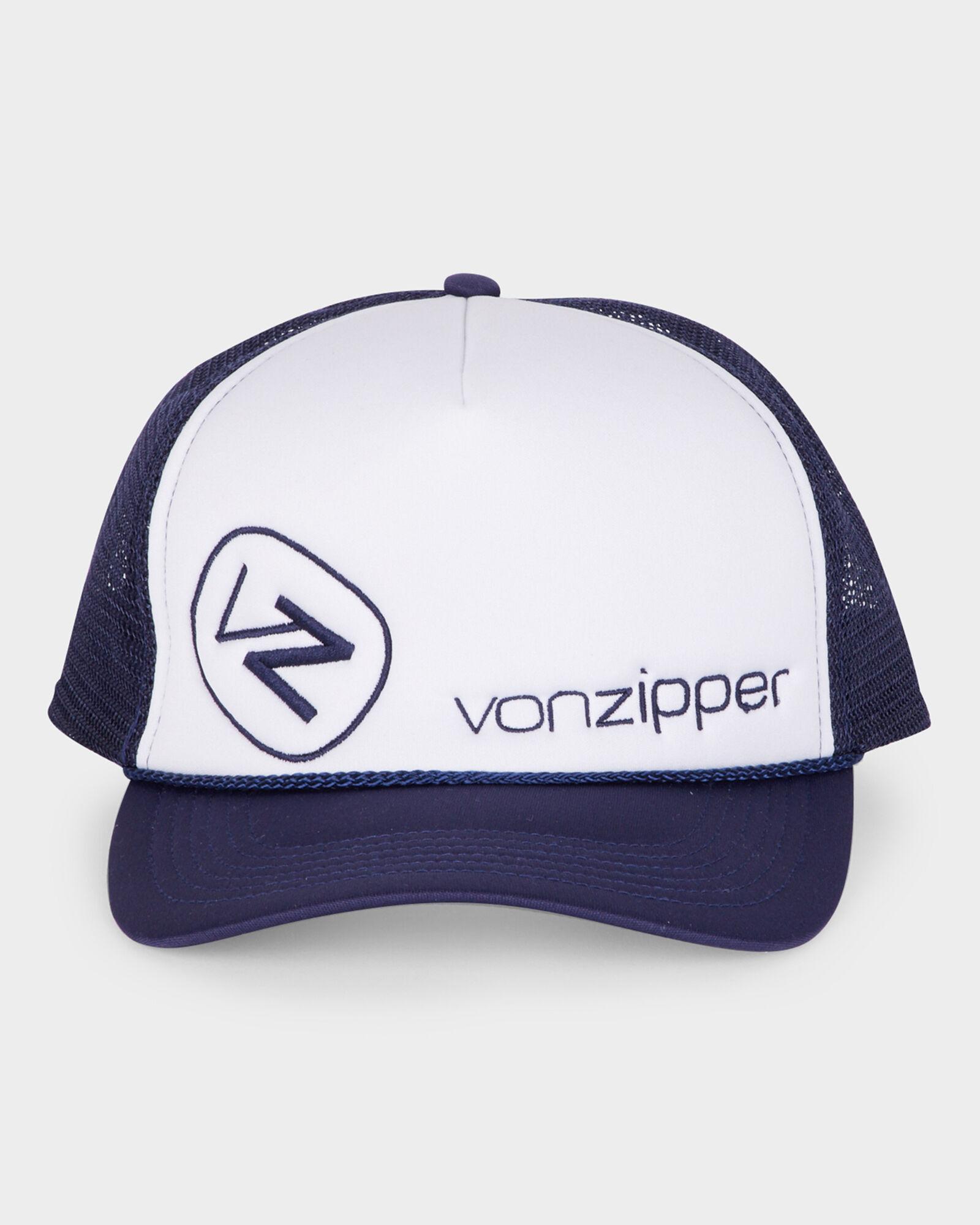 VON ZIPPER CAP NEW Unisex MENS MOBY CLASSIC TRUCKER SURF Red White Surf Skate