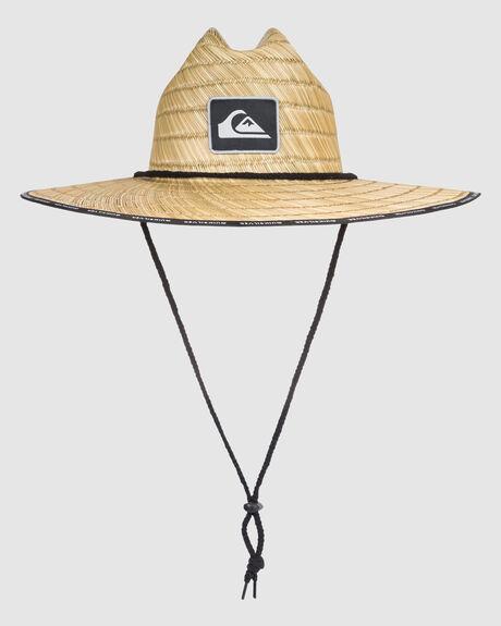 DREDGED STRAW LIFEGUARD HAT