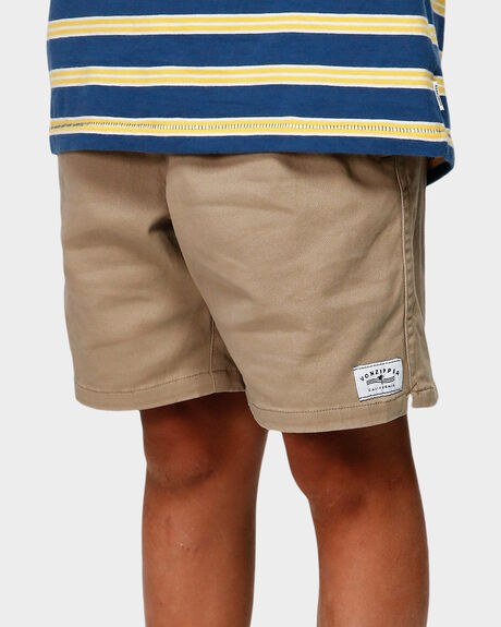 YOUTH TWILL DOGS ELASTIC SHORT