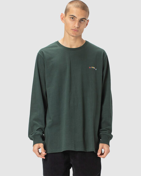MEN'S B.COOLS EMBRO LS TEE