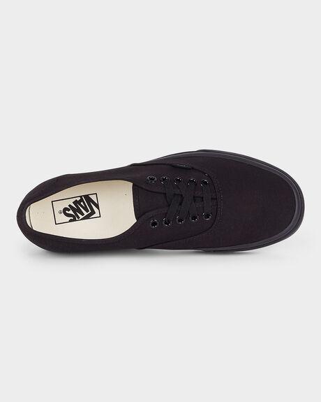 AUTHENTIC VANS BLACK/ BLACK SHOE
