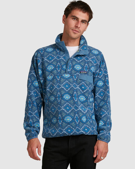 MENS LIGHT WEIGHT SYNCH SNAP-T PULL OVER