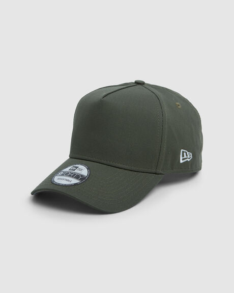 NEW ERA ESSENTIALS OLIVE 9FORTY A-FRAME